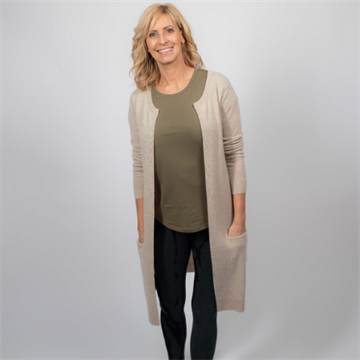 Bailey Long Cashmere Cardigan
