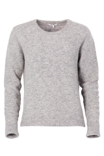 Rigmor Lux Pullover Light Grey