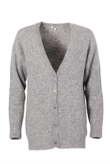 Signe Lux Cardigan Light Grey