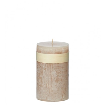 Timber Block Moonlight Healthy Candle 8 x15 cm